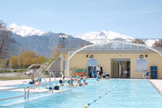 piscina aquatique dell hotel etoile du nord